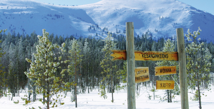 Ylläs, Lappland