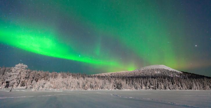 Nordlichter, Ylläs, Lappland