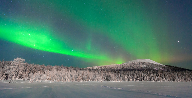 Aurora Polaris, Ylläs, Laponie