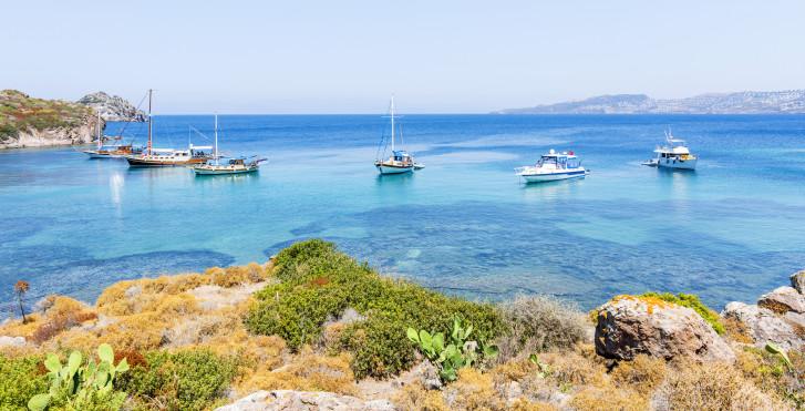 Mer Égée turquoise