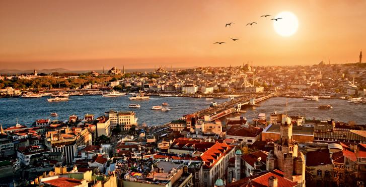 Istanbul vue d'en haut