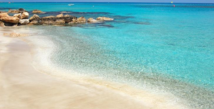 Einsamer Strand, Zypern