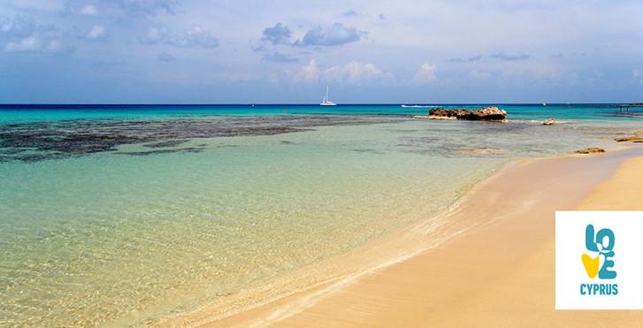 Beliebter Badestrand Limnara Beach bei Ayia Napa