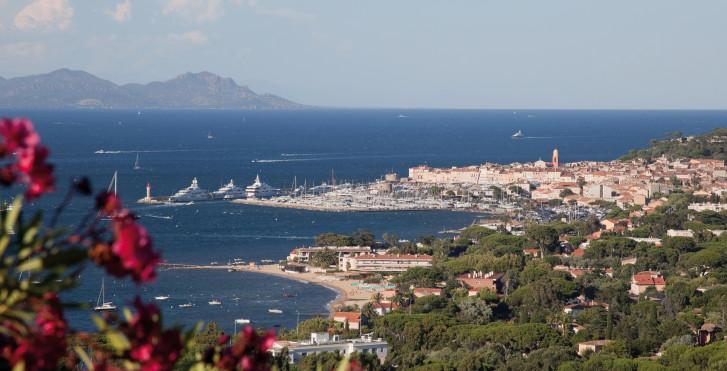 Saint-Tropez von oben