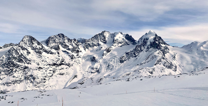 Piz Corvatsch Gletscher