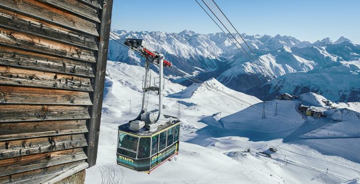 Weissfluhjoch © Destination Davos-Klosters
