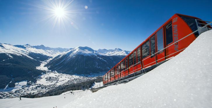 Parsennbahn © Destination Davos-Klosters