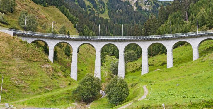 Val Bugnei Viadukt