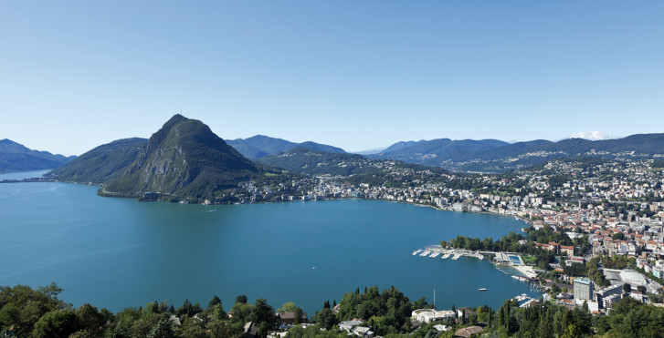 Lac de Lugano, Tessin
