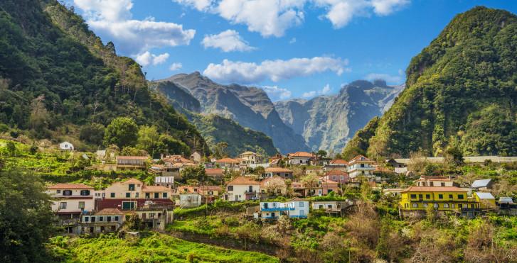 Village de montagne Portela