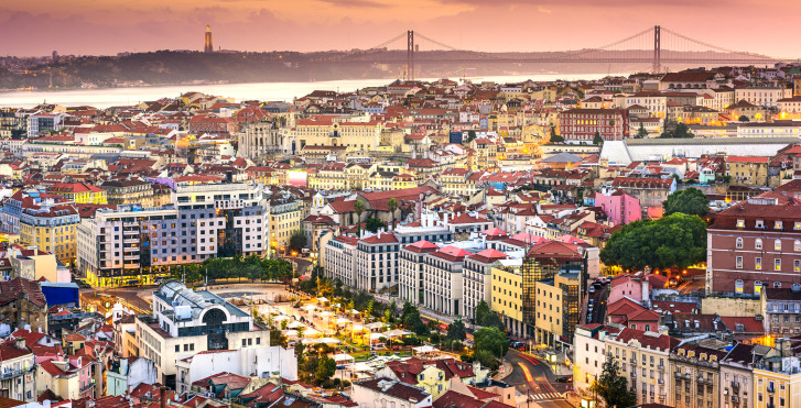 Lisbonne vue d'en haut