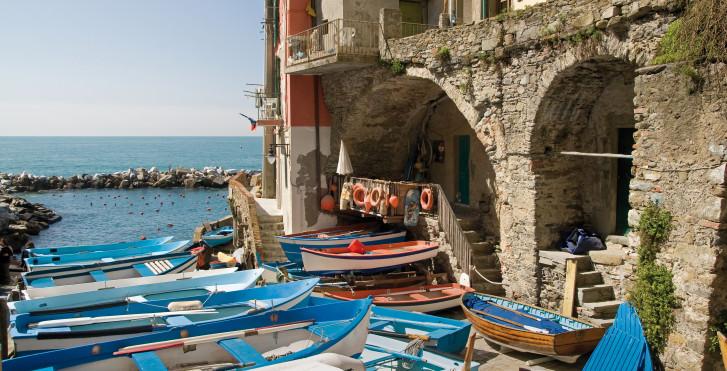 Anlegestelle, Cinque Terre