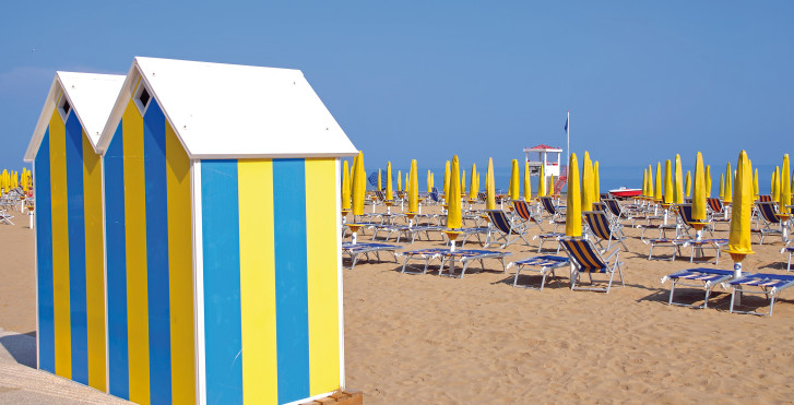 Strand bei Jesolo