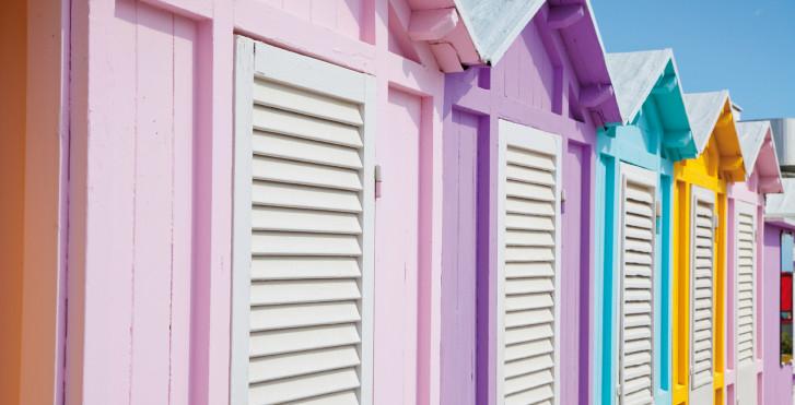 Cabines de plage, Rimini