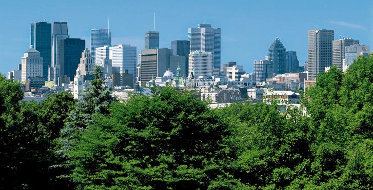 Skyline, Montréal