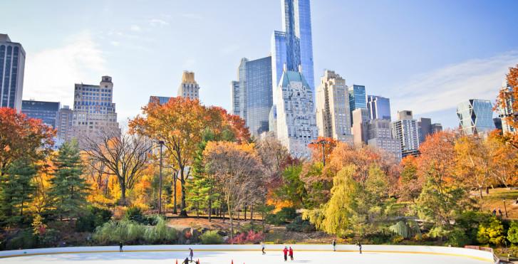 New York Schlittschuhlaufen