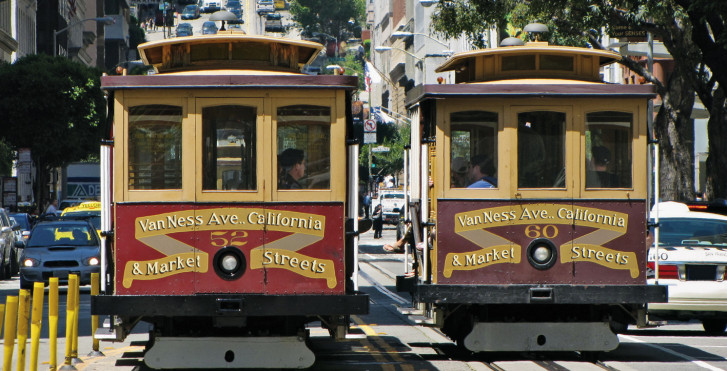 Trams, San Francisco