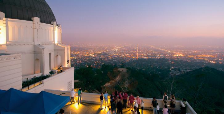 Los Angeles vue d'en haut