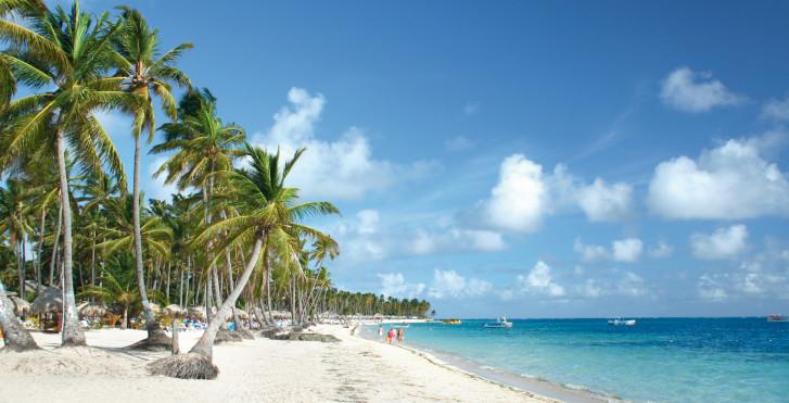 Traumstrand in Punta Cana, Dominikanische Republik