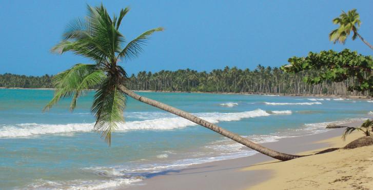Strand bei Puerto Plata, Dominikanischen Republik