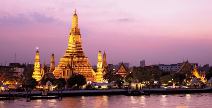 Wat Phra Kaeo Tempel, Bangkok