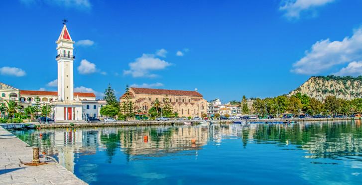 Hafen in Zakynthos Stadt