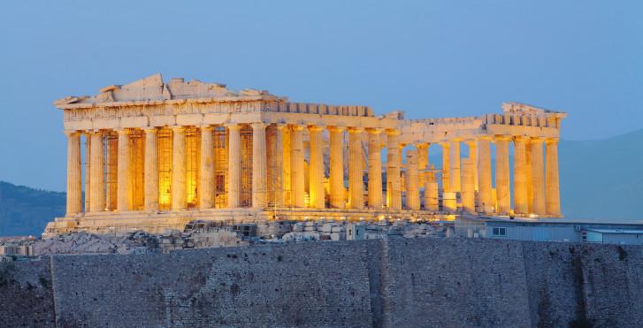 Parthenon Tempel, Akropolis