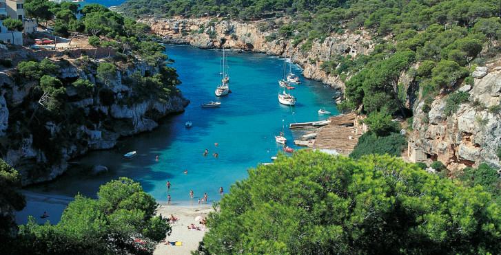 Mallorca, Bucht in Cala
