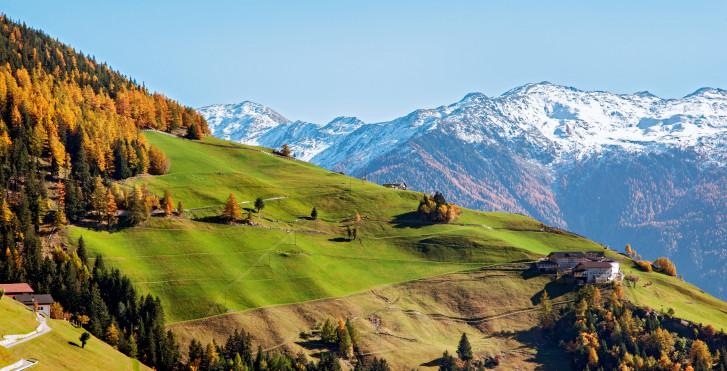 Landschaft im Vinschgau
