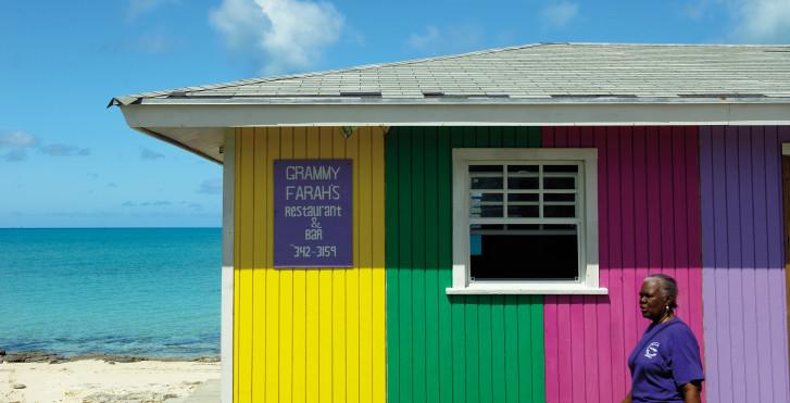 Strandbar, New Providence, Bahamas