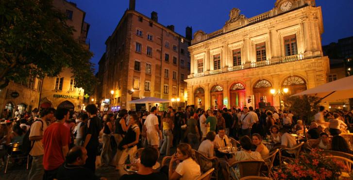 Nachtleben in Lyon