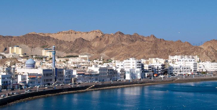 Muscat am Golf von Oman