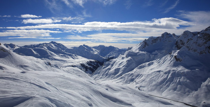 Domaine du ski Arlberg