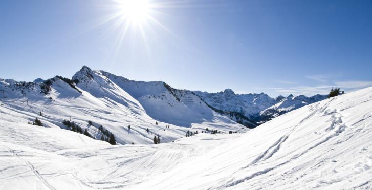 Skifahren im Bregenzerwald