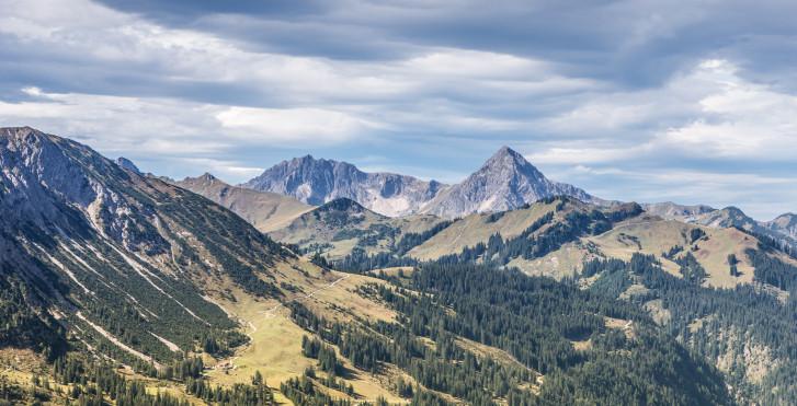 Die Berge im Tannheimertal