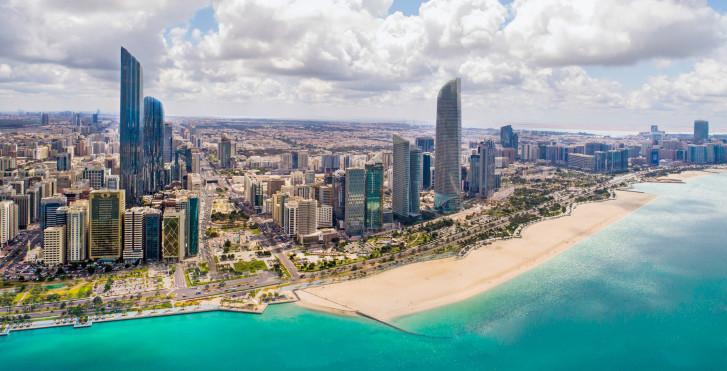 Aussicht auf Abu Dhabi