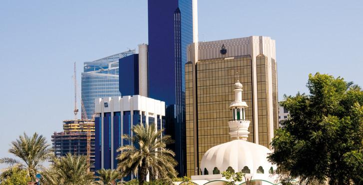 Skyline, Abou Dhabi
