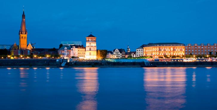 Dusseldorf de nuit