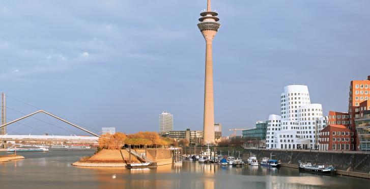 Port de Dusseldorf