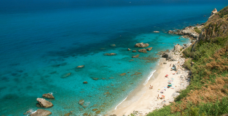 Mer turquoise, Calabre