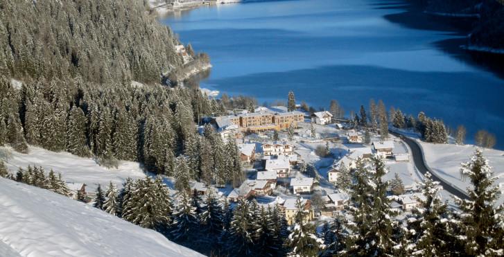 Kuppelwies im Winter, Ultental