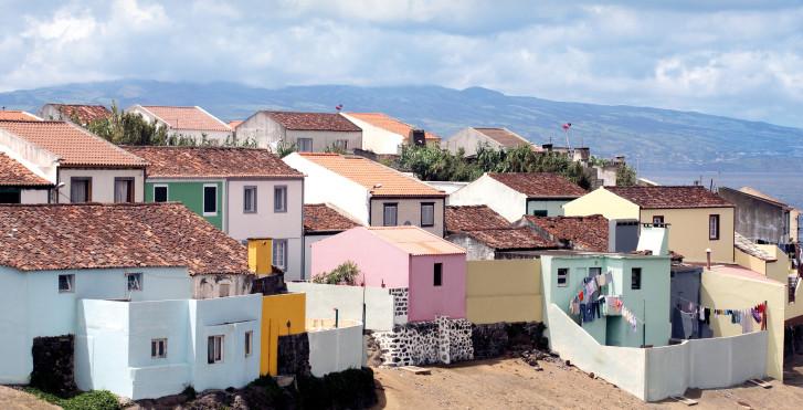 Häuser in Sao Miguel, Azoren
