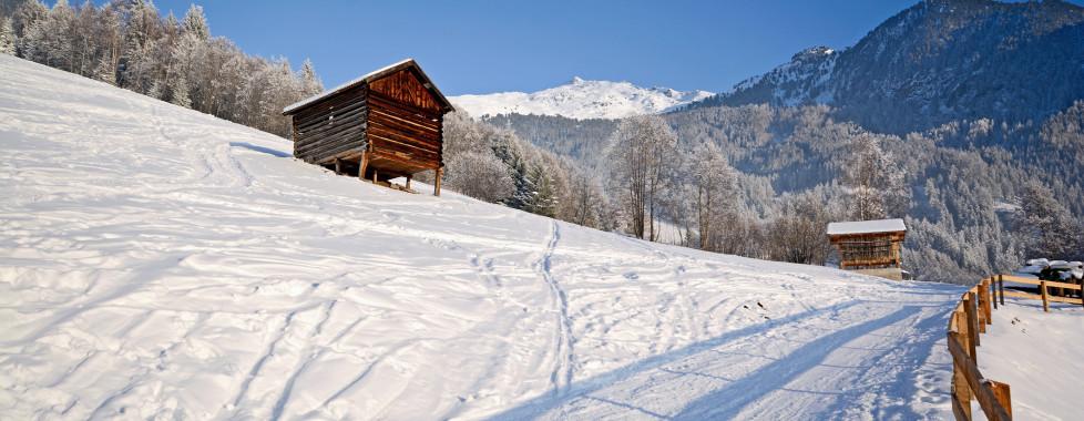 Winterwandern im Pitztal