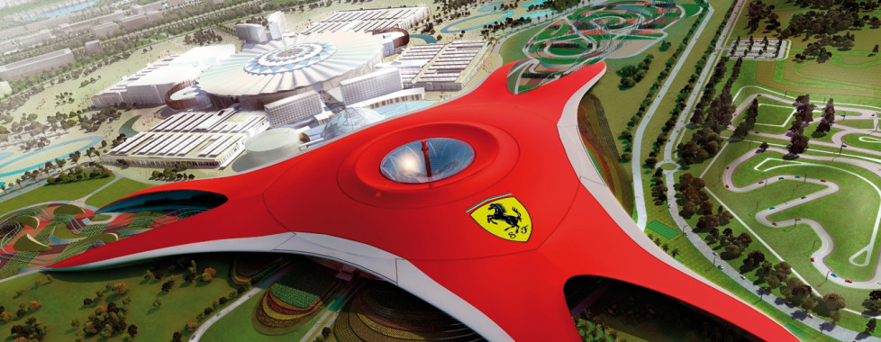 Ferrari World, Abou Dhabi