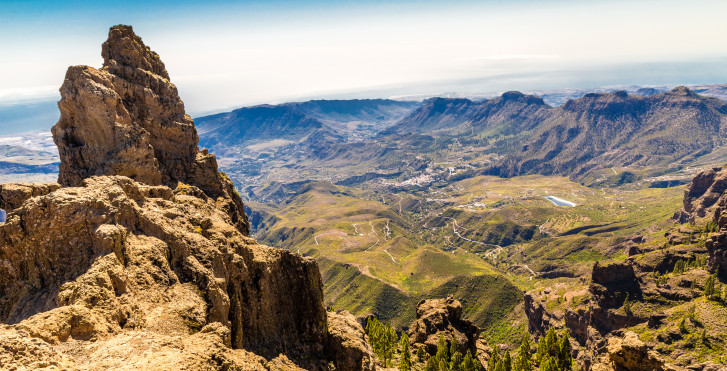 Spektakulärer Ausblick vom Morro de la Agujereada