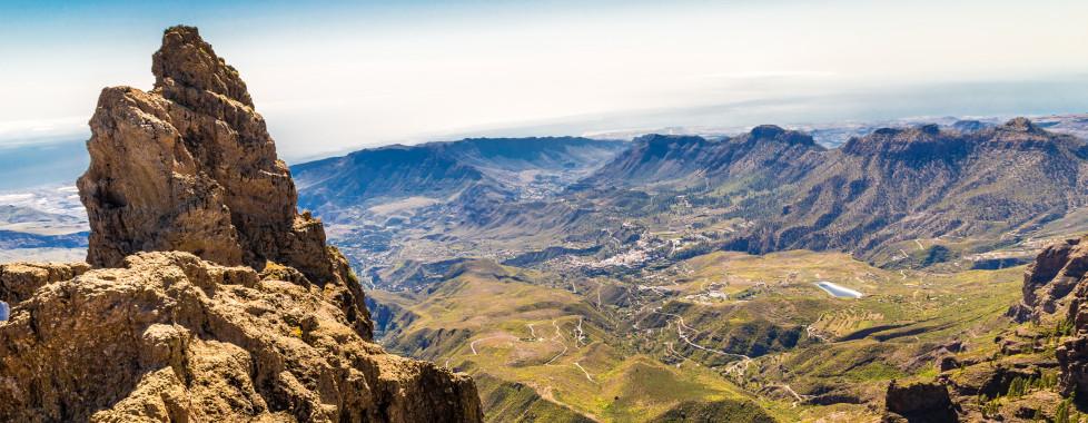 Vue spectaculaire du Morro de la Agujereada