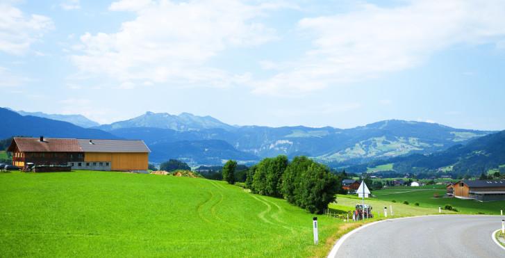Vue sur Lingenau