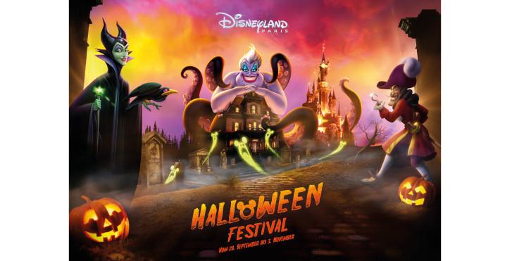 Halloween Festival, Disneyland® Paris - Freizeitparks Frankreich