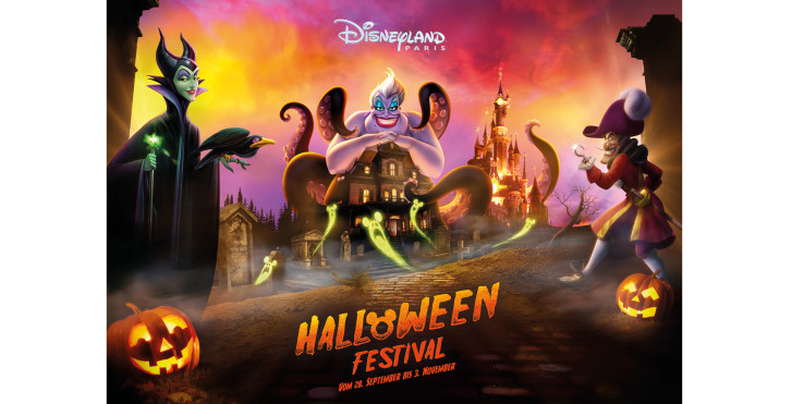 Halloween Festival, Disneyland® Paris - Parcs d'attractions France