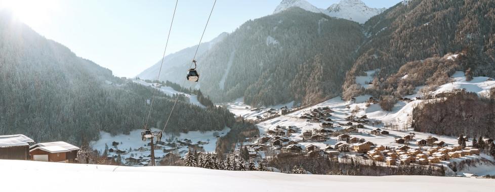 Blick auf St. Gallenkirch